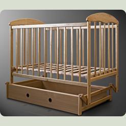 Детская кроватка Наталка Маятник Светлая