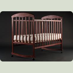 Детская кроватка Наталка Ольха Тонированная