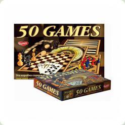 """Детская настольная игра """"50 видов игр для всей семьи"""""""