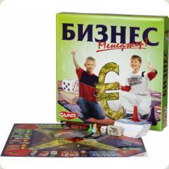 """Детская настольная игра""""Бизнес"""""""