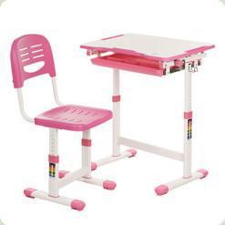 Детская парта Bambi B 201-2 Розовый