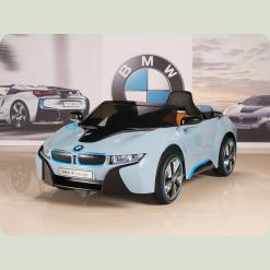 """Детский электромобиль """"BMW i8"""" concert JE 168 RS-4, голубая"""