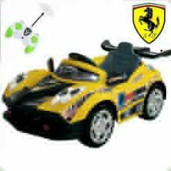 Детский электромобиль-BOC-0028 Maserati - Желтый