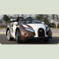 Детский электромобиль Bugatti Veyron SX1118, черный