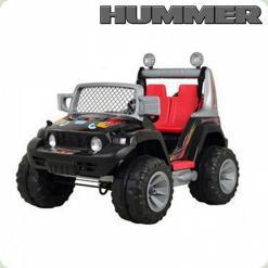 Детский Электромобиль Джип Hummer, черный