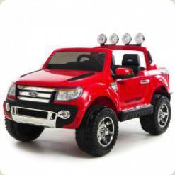 Детский электромобиль FORD RANGER (Резиновые колеса), красный