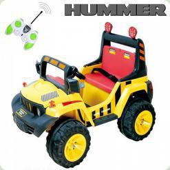 Детский Электромобиль Hummer, зеленый