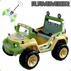 Детский Электромобиль Hummer, желтый