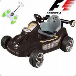 Детский Электромобиль Картинг Формула-1, черный
