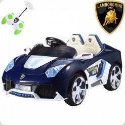Детский электромобиль Lamborghini BT-BOC-0073 2 мотора, 12V, темно-синий