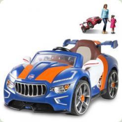 Детский электромобиль Maserati M 2397 BR-3: 3-7 км/ч, BT, 2 мотора, КРАСНЫЙ