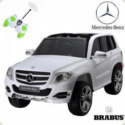 Детский электромобиль Mercedes-Benz, белый