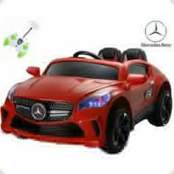 Детский электромобиль Mercedes A-Klasse Concept , красный