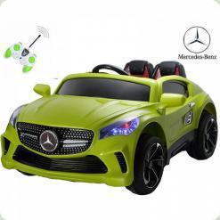 Детский электромобиль Mercedes A-Klasse Concept, салатовый