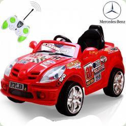 Детский электромобиль Mercedes, красный