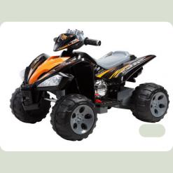 Детский квадроцикл 007 - 12V черный