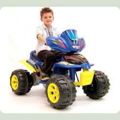 Детский квадроцикл A22, синий
