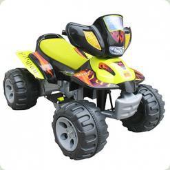 Детский квадроцикл A22, желтый