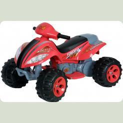"""Детский квадроцикл POWER B-03. 6V, скорость: 3.5 км/ч """"красный"""""""