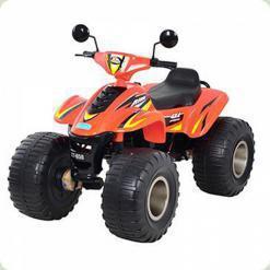 Детский Мощный квадроцикл M 1714-7 оранжевый