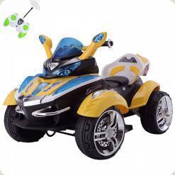 Детский мотоцикл М 2222 R-6 на радиоуправлении (желтый)