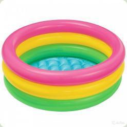 Детский надувной бассейн Intex Рассвет (57107)