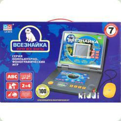 Детский ноутбук Bambi Всезнайка LX-561S