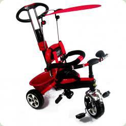 Детский трехколесный велосипед с ручкой Combi Trike BT-CT-0013 RED