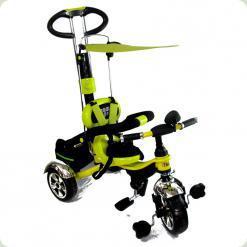 Детский трехколесный велосипед с ручкой Combi Trike BT-CT-0014 LEMON