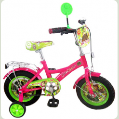 "Детский велосипед Profi Trike 12"" New 123 Маша и Медведь"