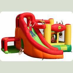 Детский надувной батут Happy Hop Игровой Центр 11 в 1