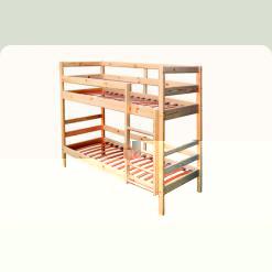 Двухъярусная кровать Babygrai из сосны