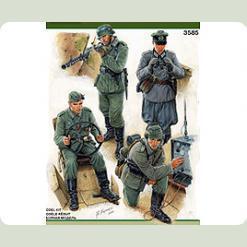 Экипаж немецкого БТРа