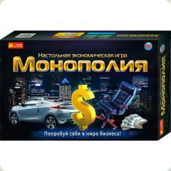 Экономическая настольная игра Ranok Creative Монополия (5807,12119001Р)