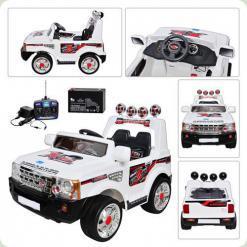 Электромобиль Bambi JJ012 R-2-1 (р/у) White