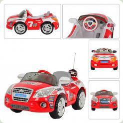 Электромобиль Bambi M 0411 R-1-3 (на р/у) Red/White