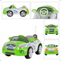 Электромобиль Bambi M 0411 R-5 (на р/у) Green/White