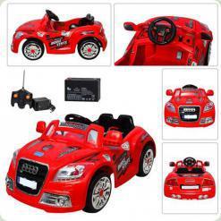 Электромобиль Bambi M0618 (р/у) Red