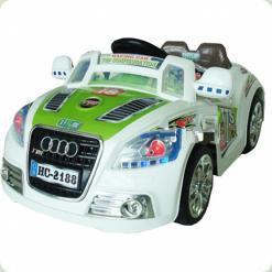 Электромобиль Bambi M0622 (р/у) White Green