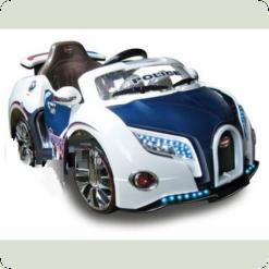 Электромобиль Bambi M0660 (р/у) ДХО Blue White