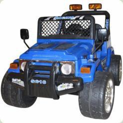 Электромобиль Bambi S618 R-4 (р/у) (2 мотора, 2 аккумулятора) Blue