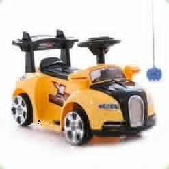 Электромобиль Bambi ZPV 001 R-6 Bugatti (р/у) Yellow