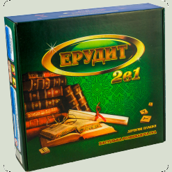 Эрудит 2 в 1 (рус. и укр.)