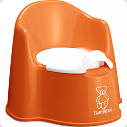 Горшок BabyBjorn Potty Chair Оранжевый