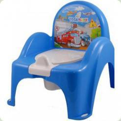 Горшок-кресло муз. Tega Cars PO-053 blue