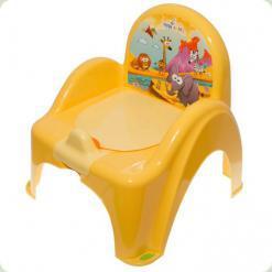 Горшок-кресло муз. Tega Safari PO-041 yellow