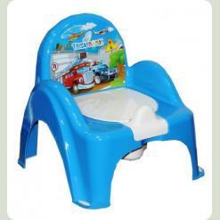 Горшок-кресло Tega Cars CS-007 blue