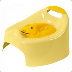Горшок музыкальный с крышкой Tega Frog PO-012 yellow