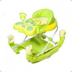 Ходунки Baby Tilly 2268 с качалкой Green