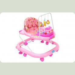 Ходунки Bambi JS 322 Pink
